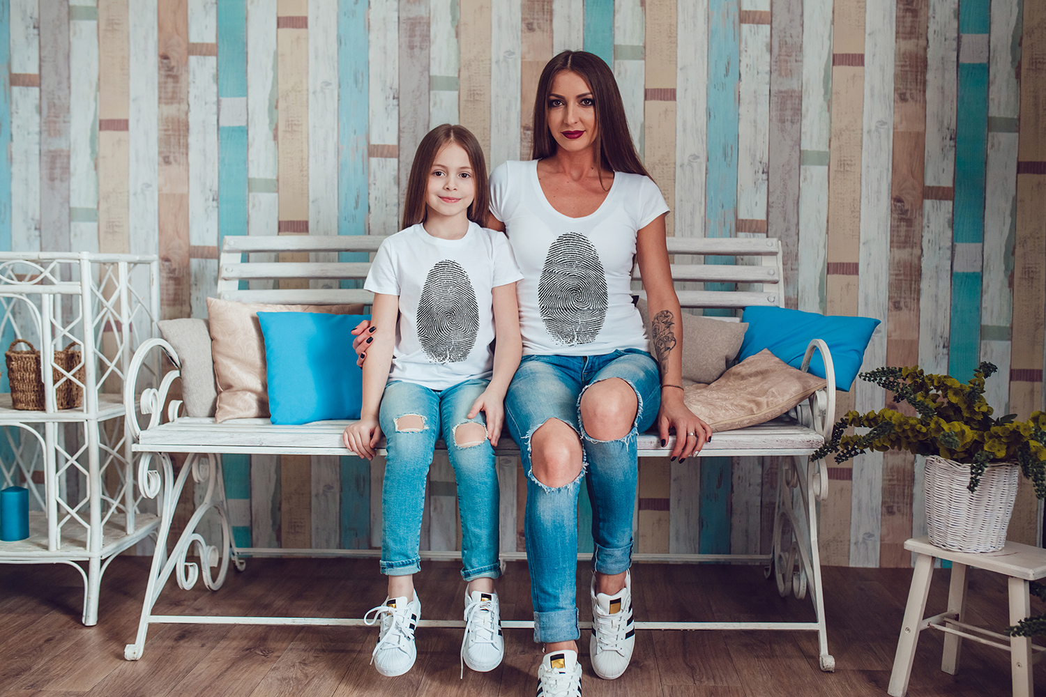 Family T-Shirt Mock-Up Vol.1 2017 example image 3