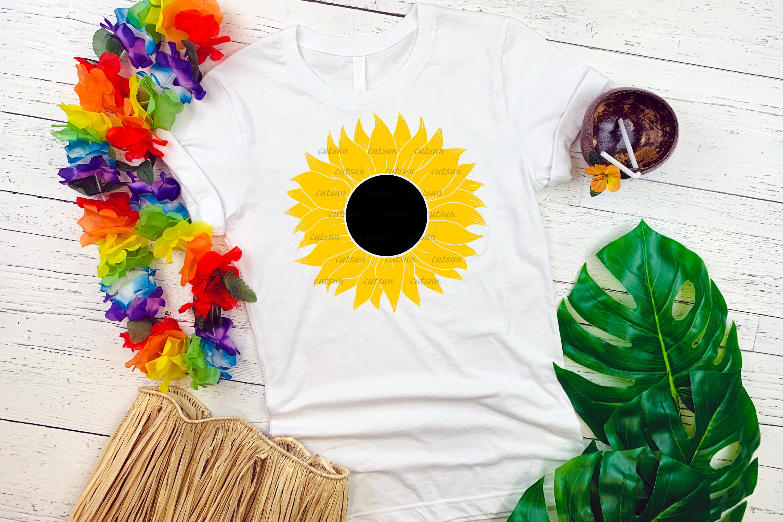 Sunflower SVG bundle   Floral bundle SVG example image 2