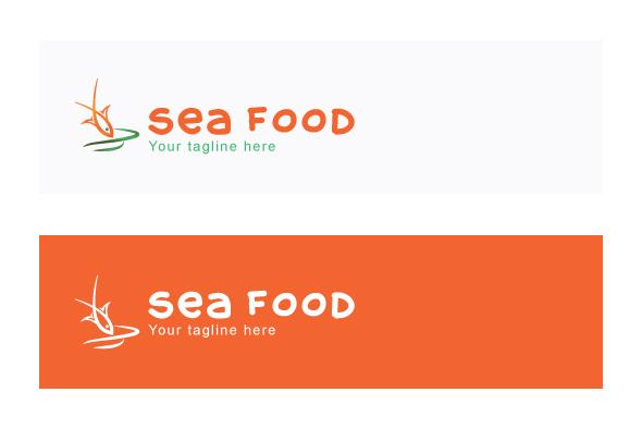 Sea Food - Simple Illustrative Stock Logo example image 2