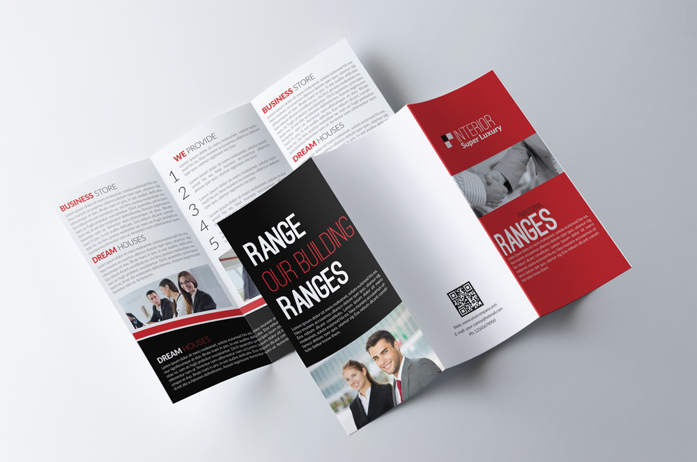 Business Corporate Trifold Brochure example image 3