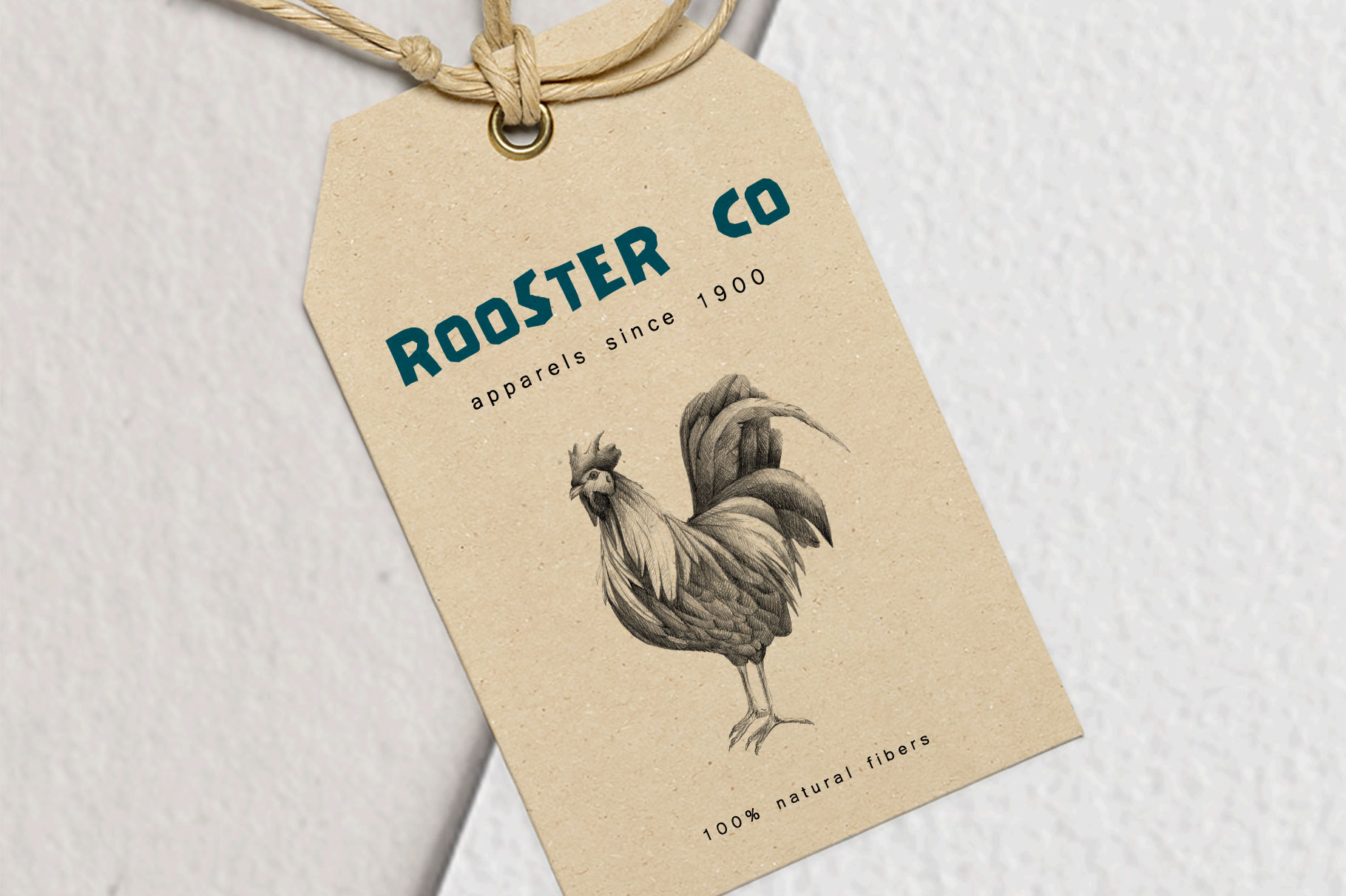 Hand drawn Rooster Illustration example image 2