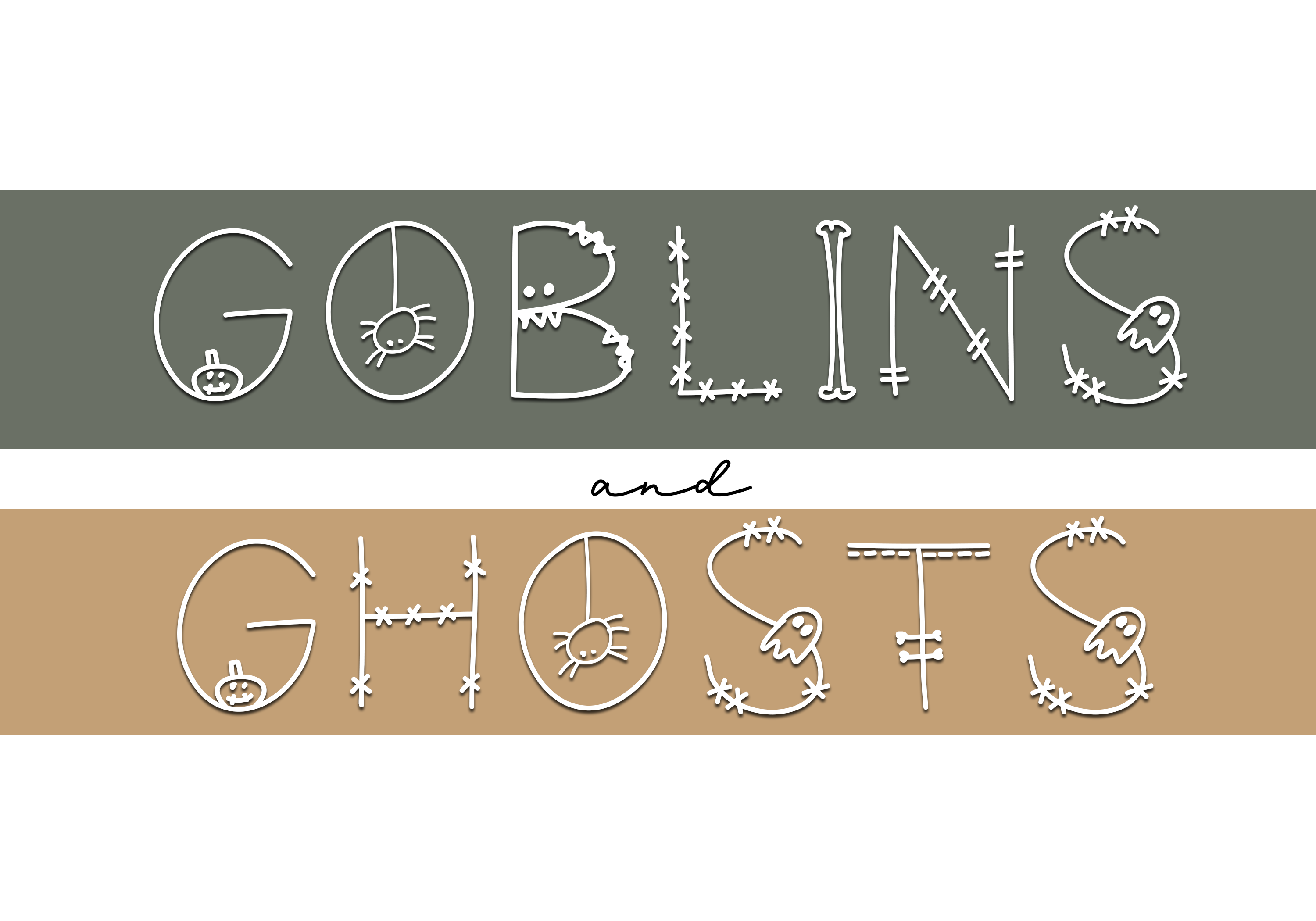 Skeleton - A Fun Halloween Font example image 3