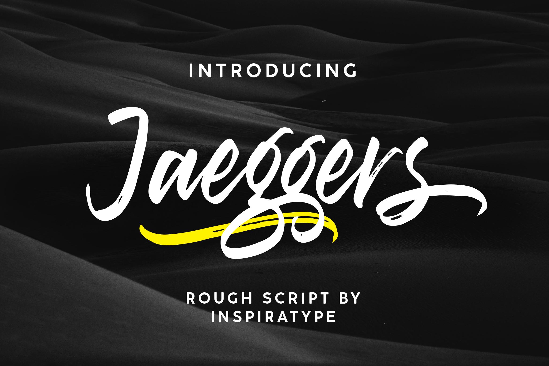 Jaeggers - Rough Script example image 1