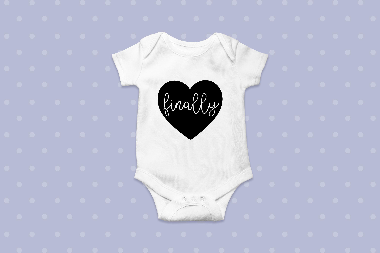 IVF Baby Onesie SVG Bundle - Onesie Cut Files example image 4