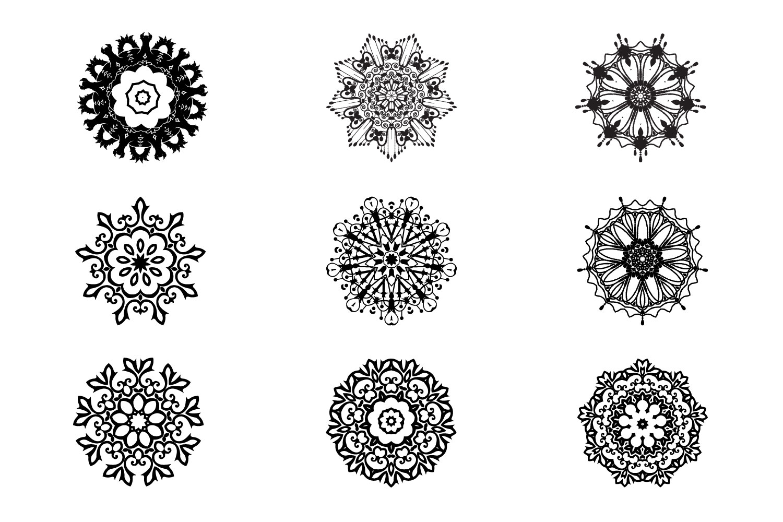 125 Vector Mandala Design example image 3