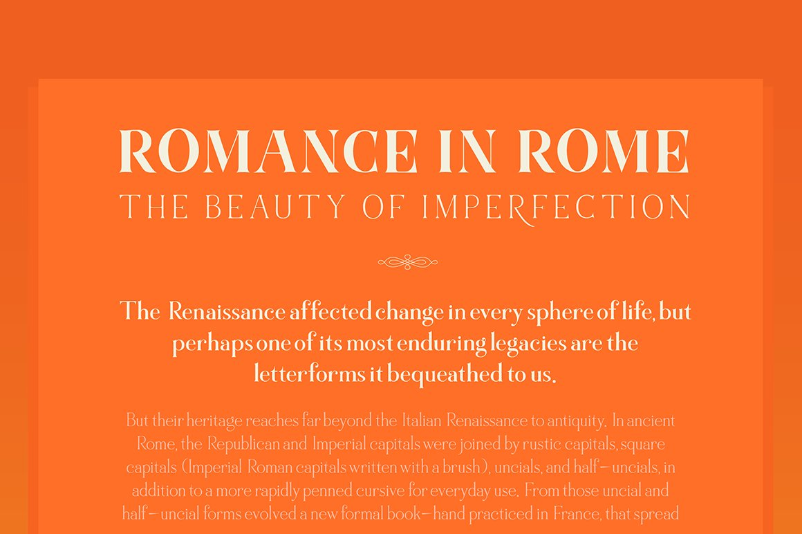 Marschel | a Classy Roman Typeface example image 3