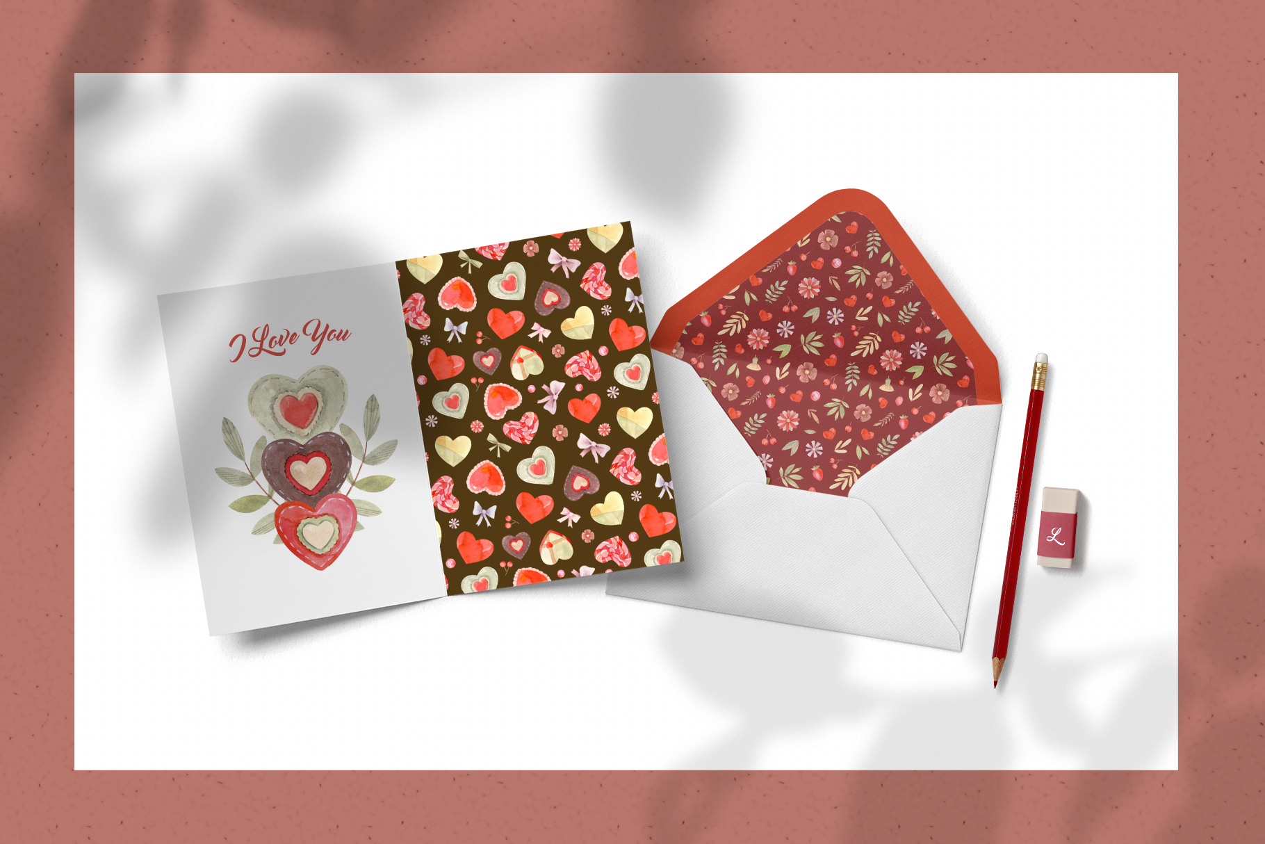 Valentines Day Seamless Patterns example image 5