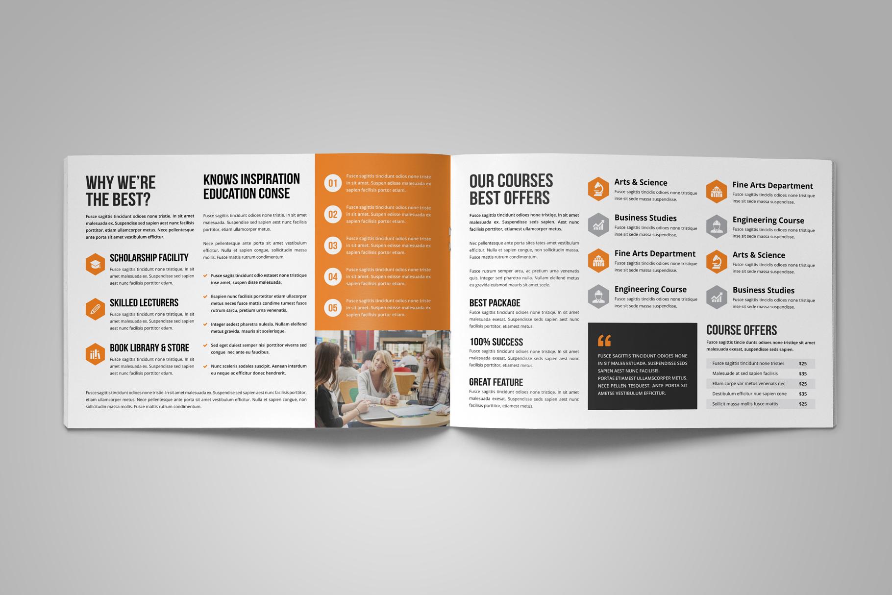 Education Prospectus Brochure v8 example image 4