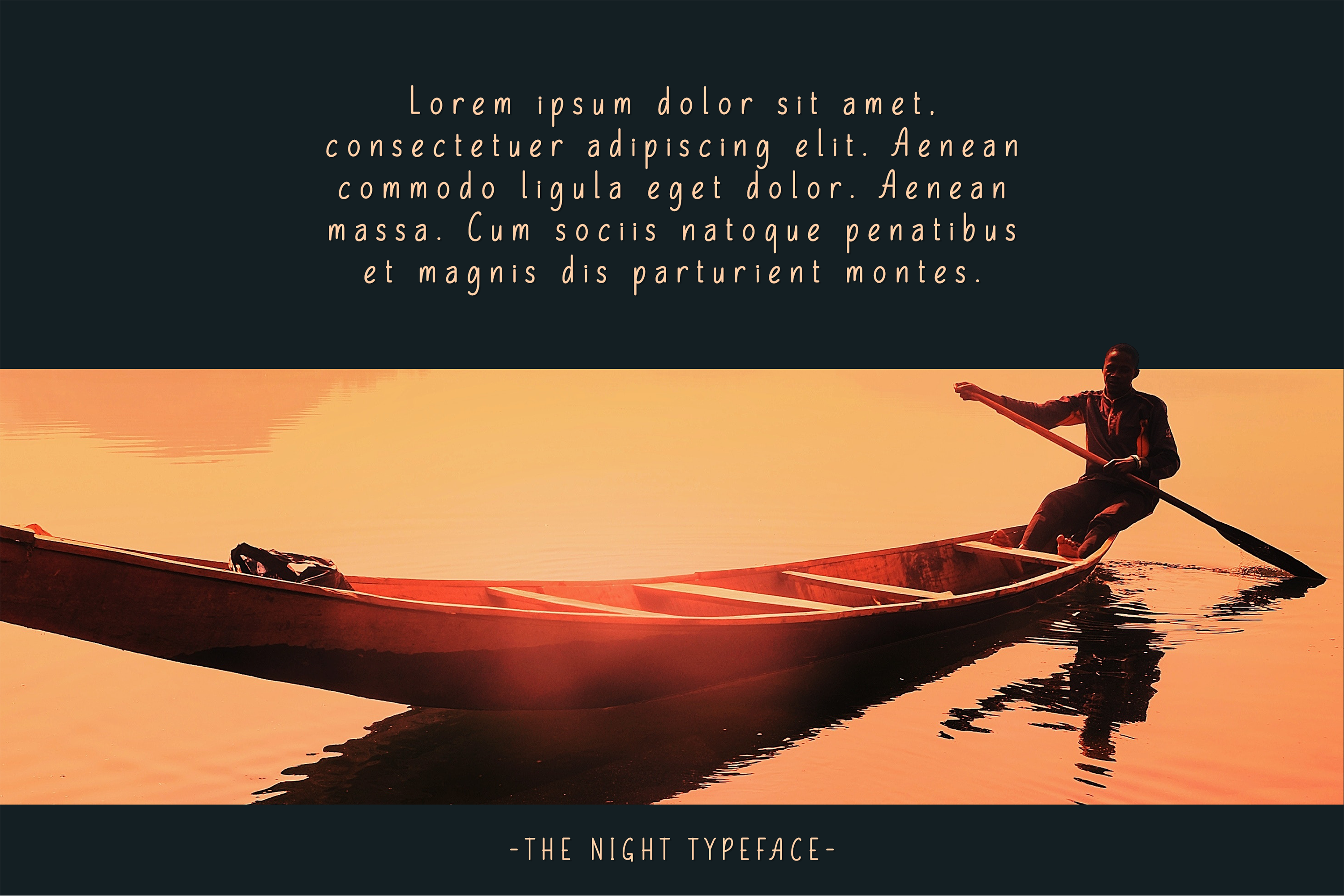 The Night Typeface example image 8