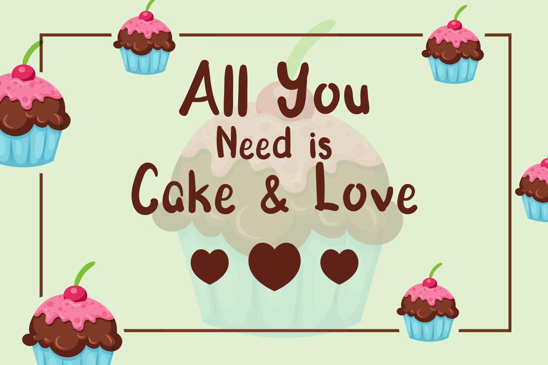 Morning Cake - Fun Font example image 2