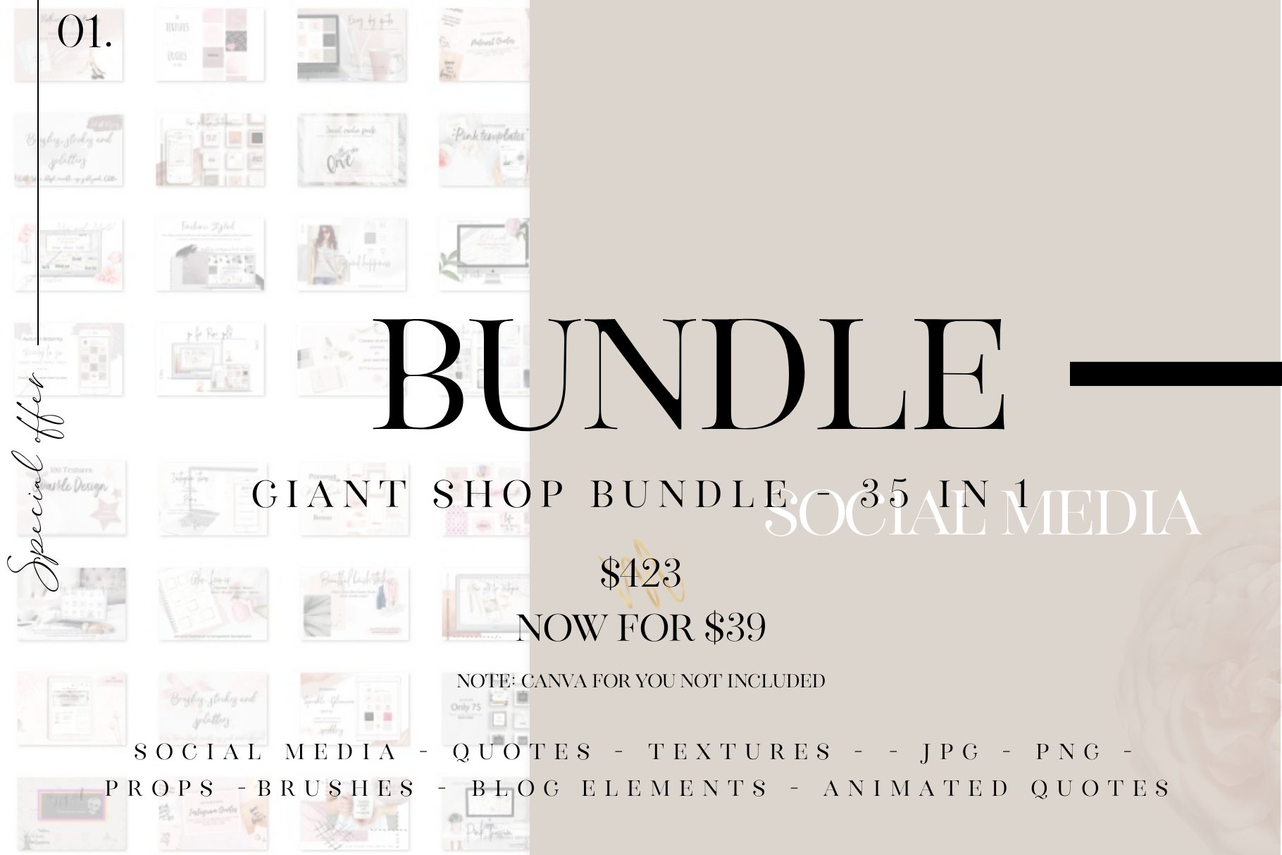 Giant shop bundle - 35 in 1 example image 1