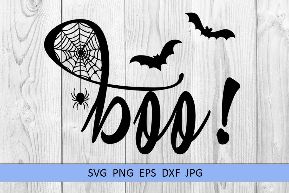 Halloween svg Boo svg Spider web svg Popular sayings svg example image 4