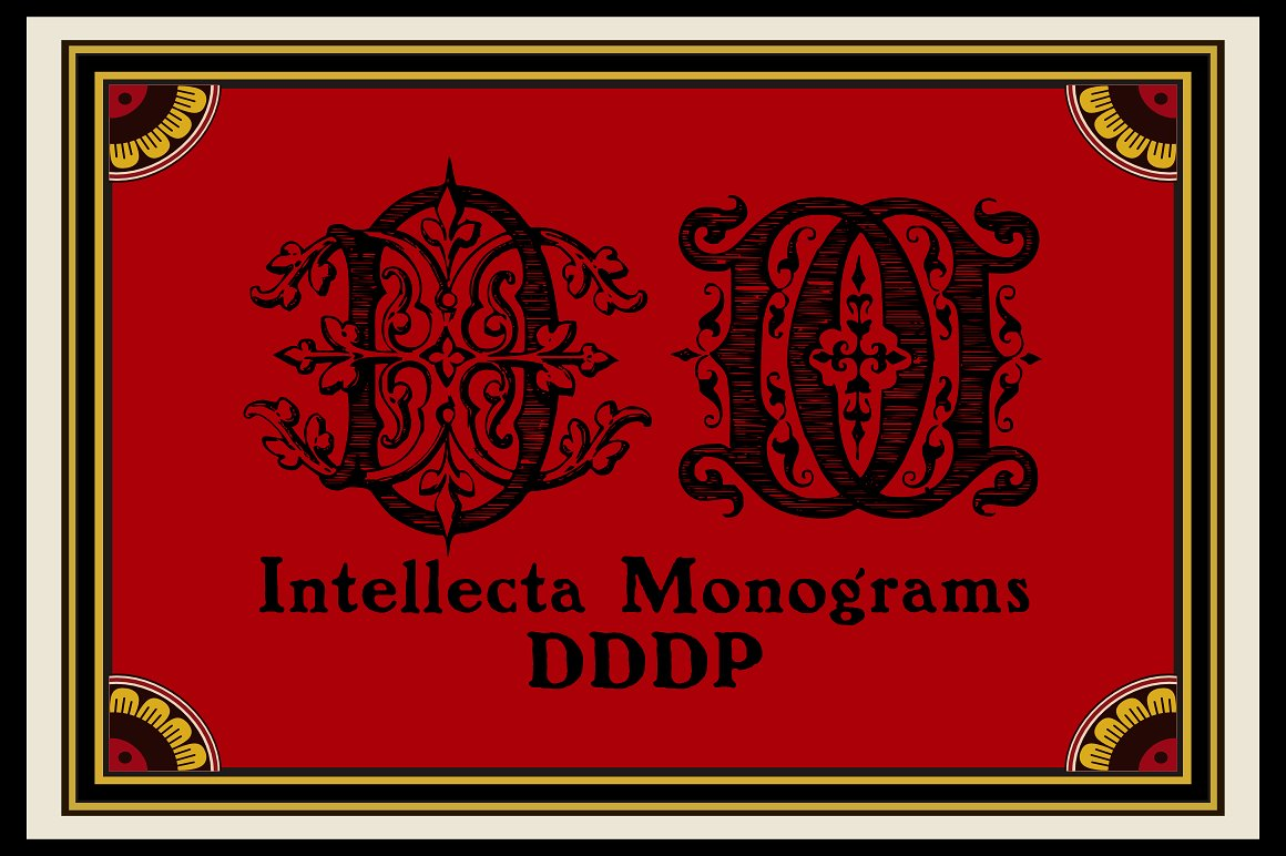 Intellecta Monograms Collection SUPER PACK example image 8