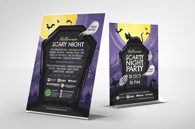 Halloween Flyer Template example image 4