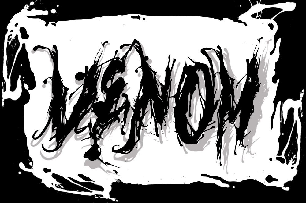 venom font example image 2