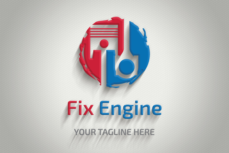 Auto Mechanic Shop Logo example image 2