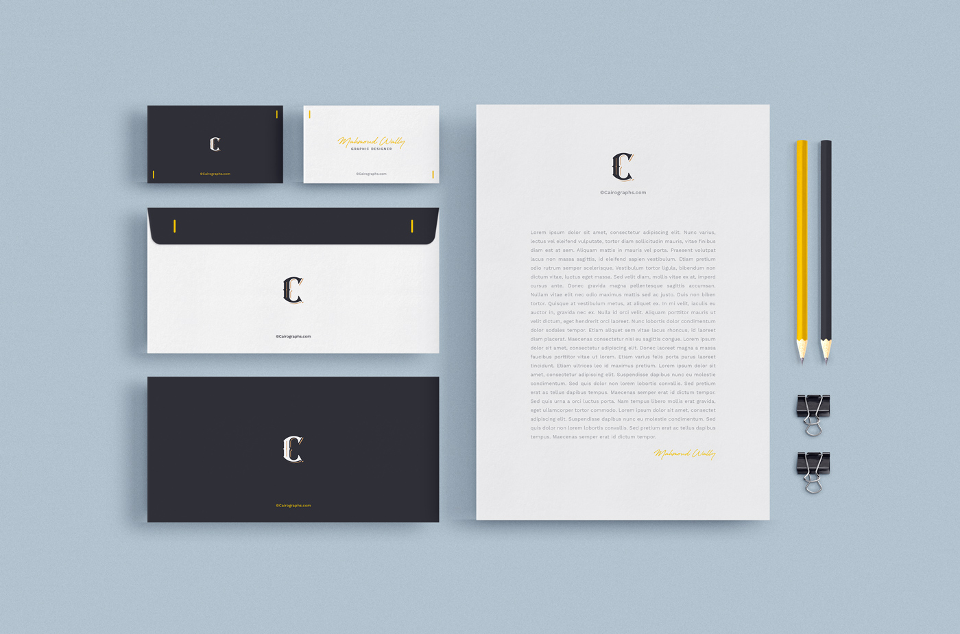 Stationery & Branding Mockups example image 4