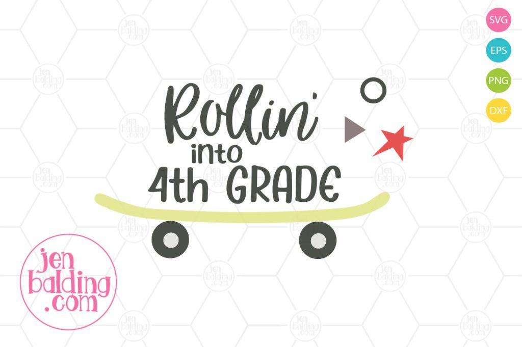 Rollin' Into School SVG Set example image 1