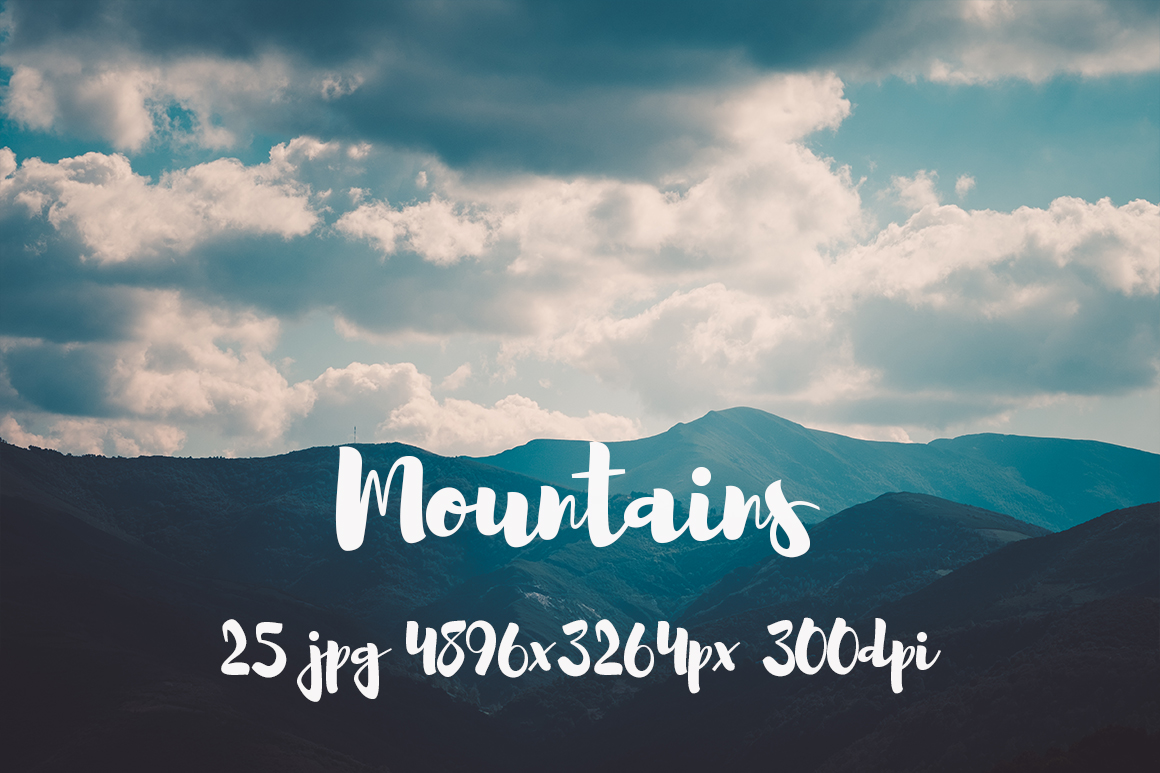 Mountains Pack example image 14