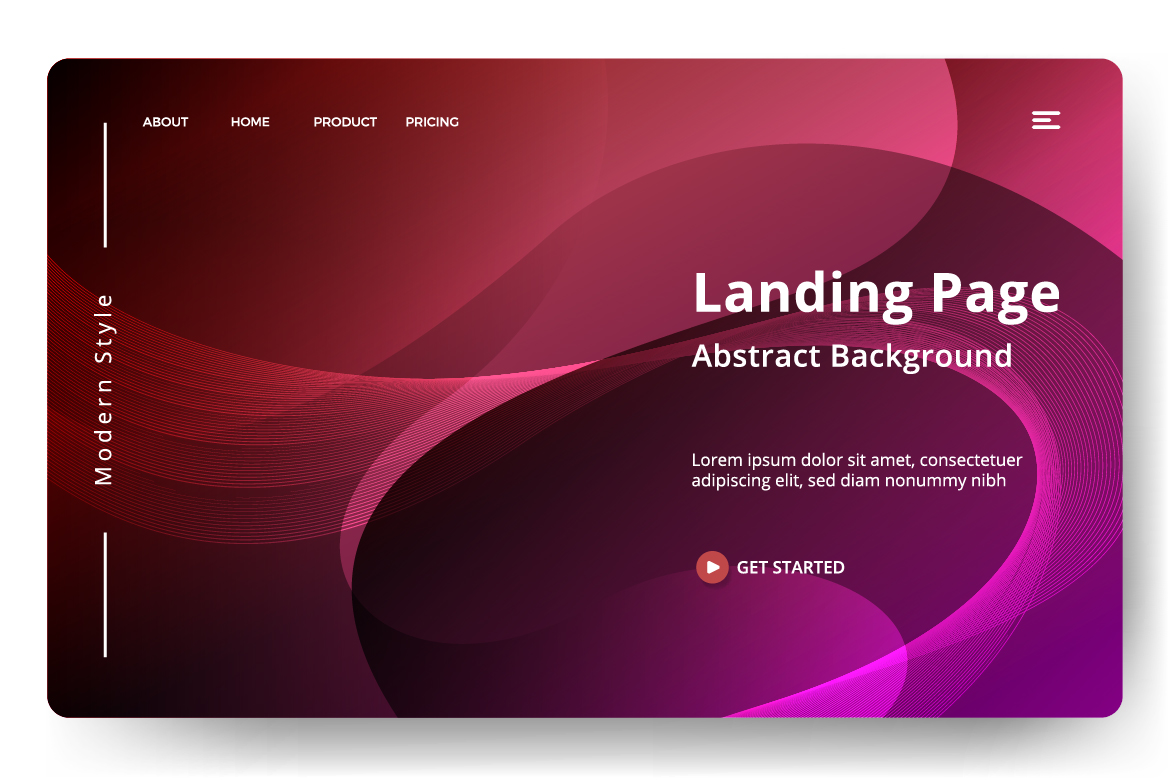 8 Abstract background design example image 4