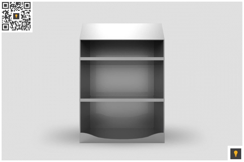 Promotional Shelf Display 3D Render example image 9