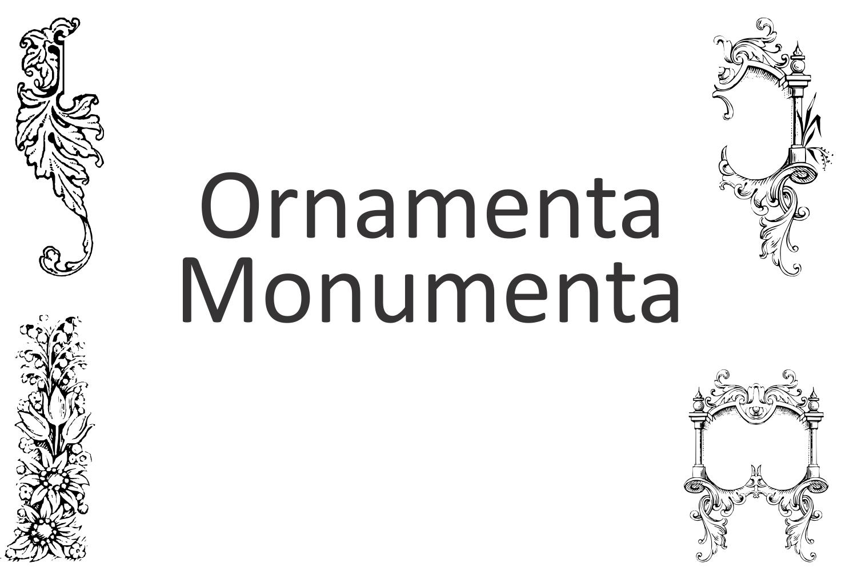 Ornamenta Monumenta example image 4