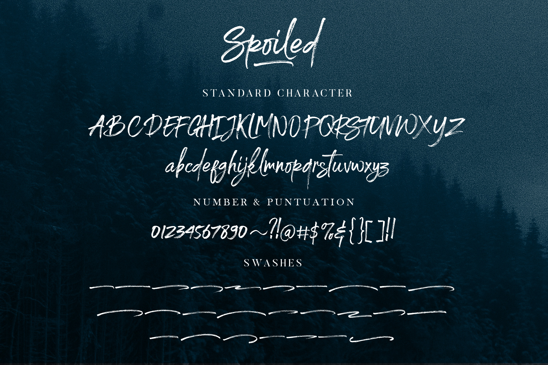 Spoiled Brush Font example image 11