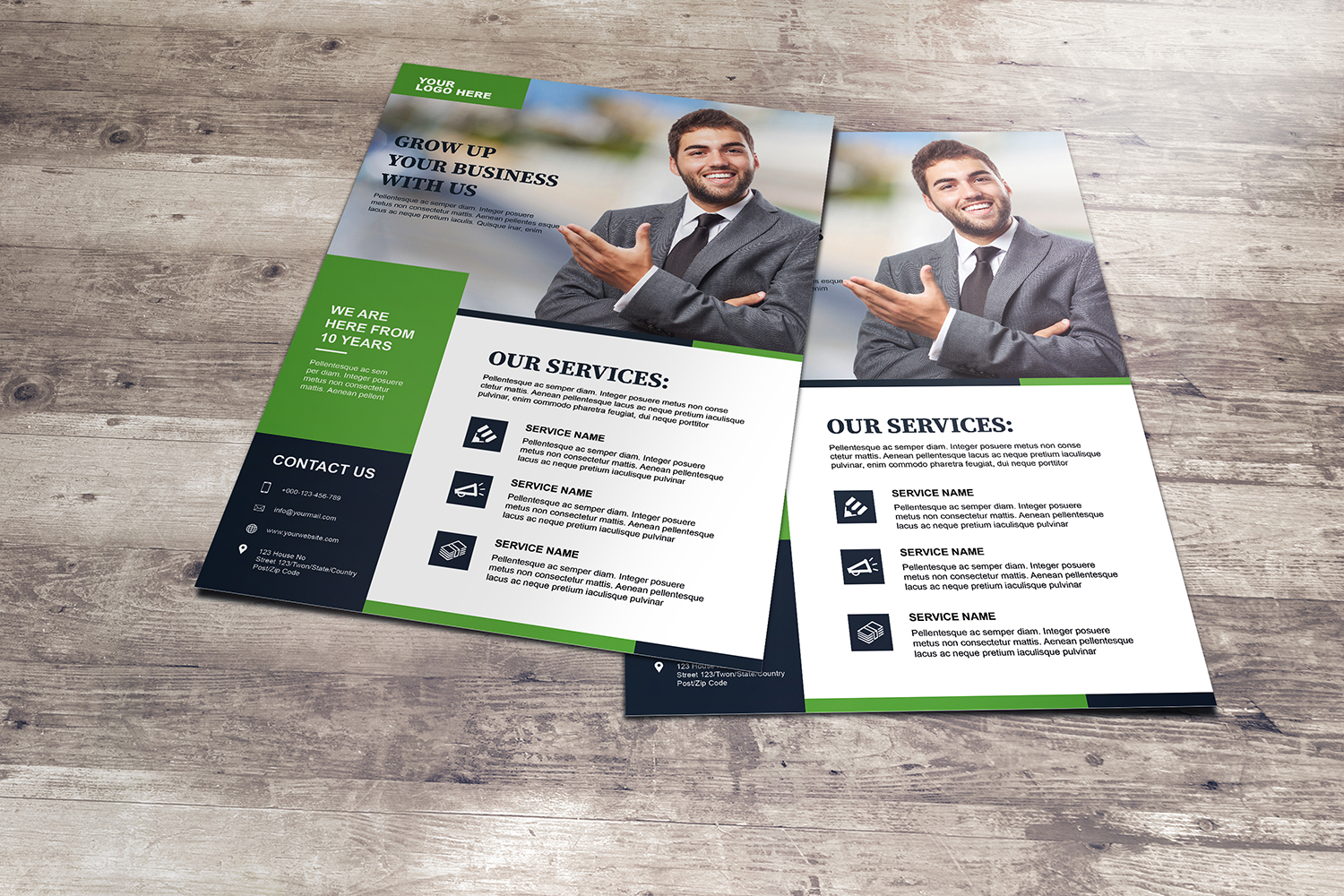 Corporate Flyer Template example image 5