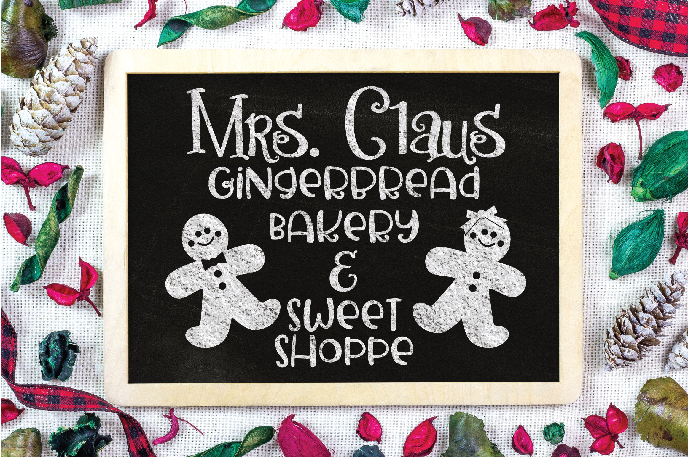 Christmas SVG Cut File - Gingerbread Bakery SVG DXF PNG EPS example image 4