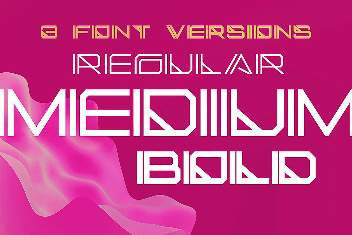 Cellica - Display Font example image 3