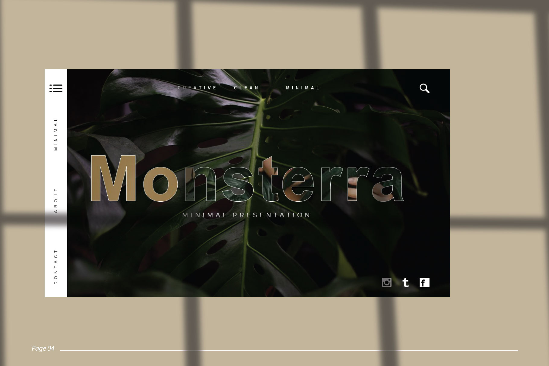 Monsterra Powerpoint Template example image 5