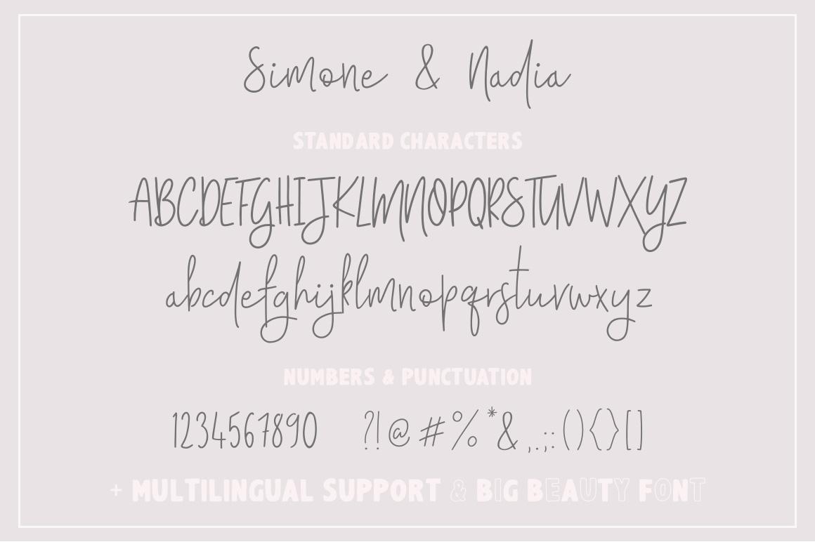 Simone & Nadia Font Trio example image 9