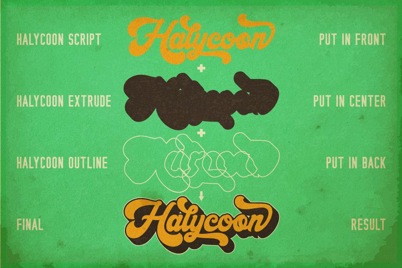 Halycoon Script example image 8