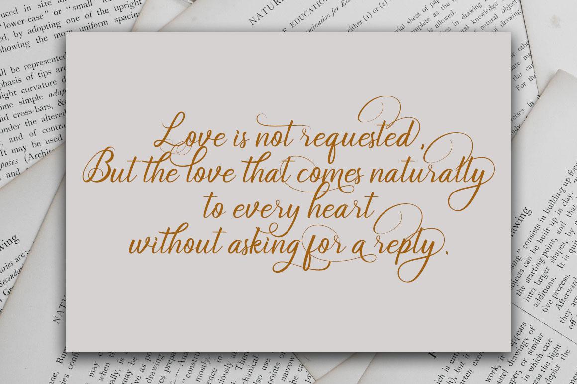 Soulmate//Luxury beauty calligraphy example image 5