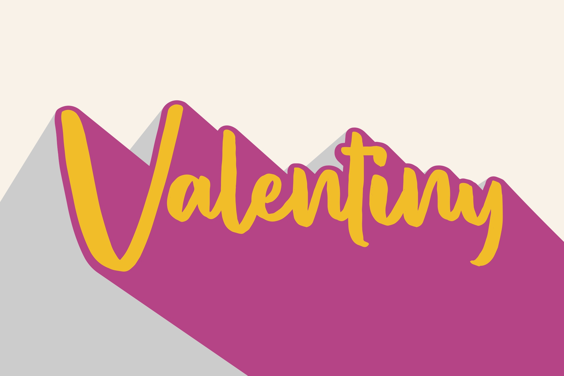 VALENTINY Font Duo example image 1