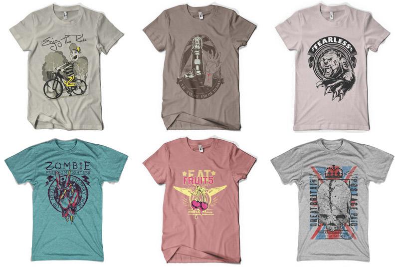 100 Premium T-shirt Designs example image 6