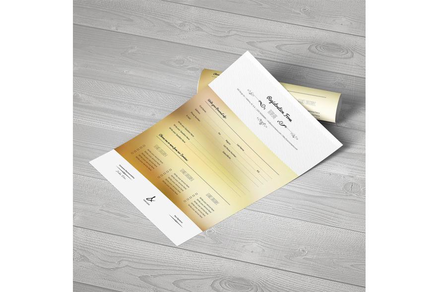 Registration Form Template v15 example image 5