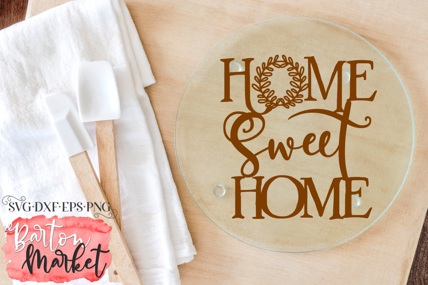 Home Sweet Home SVG DXF EPS PNG example image 2