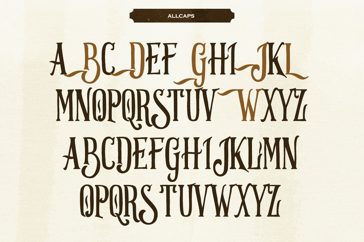 Strongwill Typeface example image 3