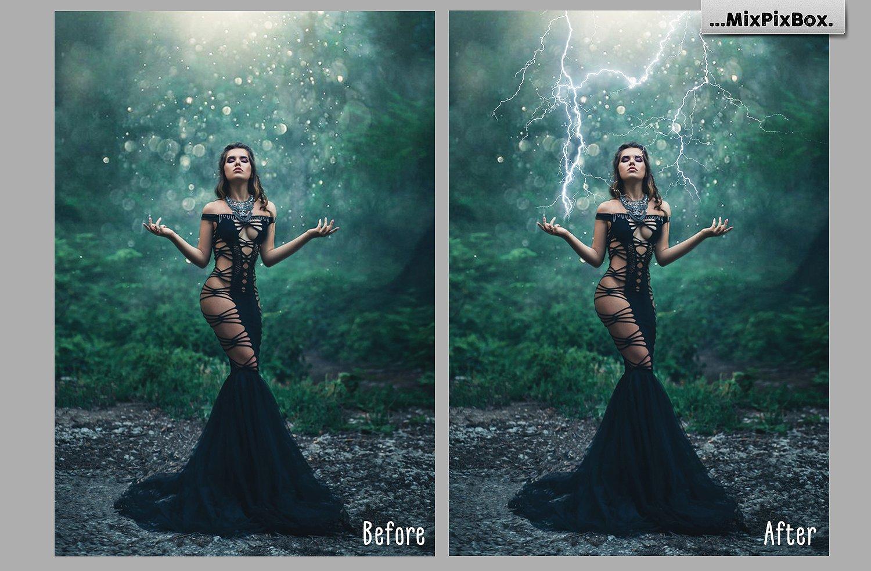 Lightning Photo Overlays example image 6