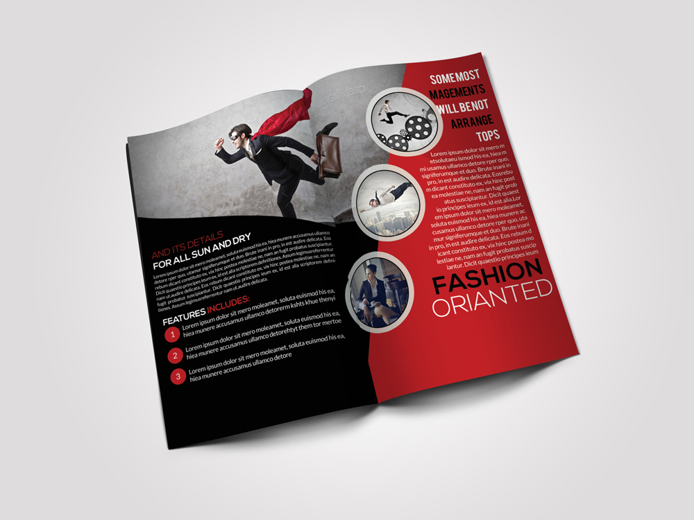 Business Innovation Bifold Brochure example image 4