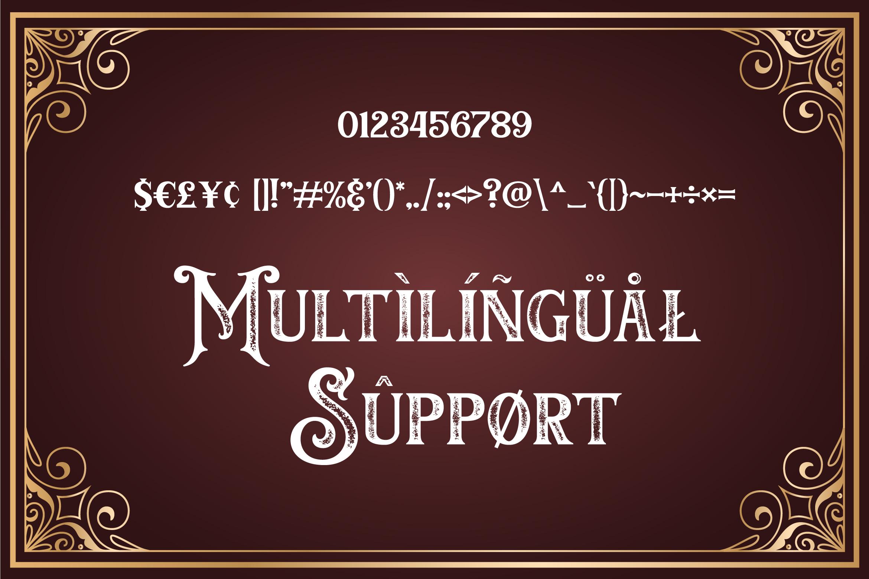 Barthez - Victorian Serif Font example image 11