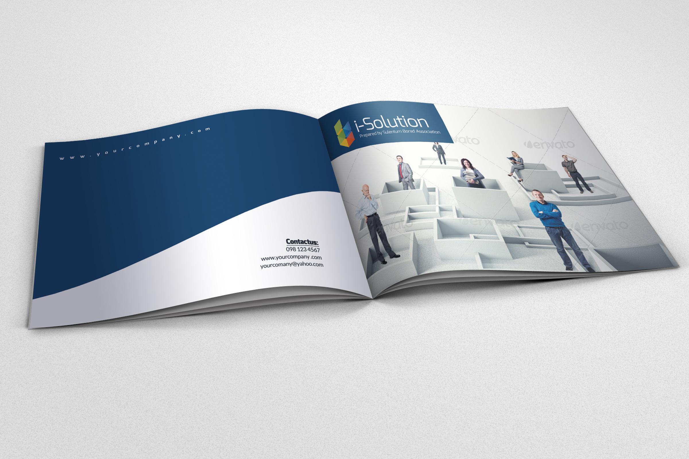 Strategic Business Bifold Brochure example image 2