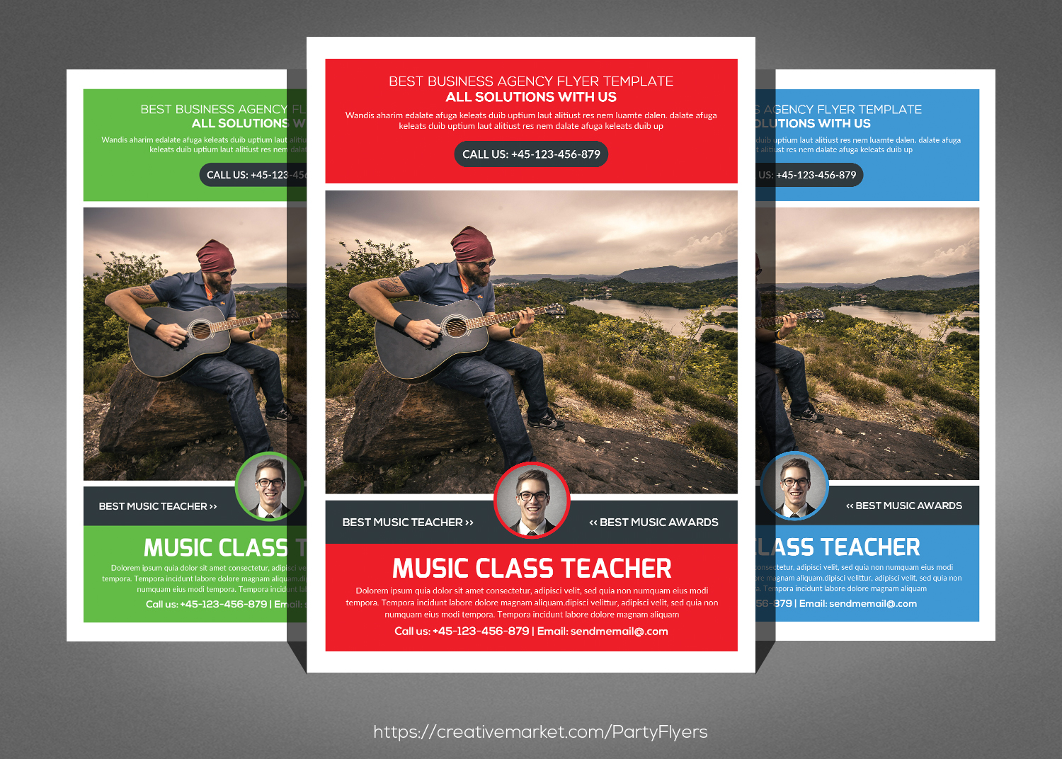 Clean Corporate Business Flyer Bundle example image 5