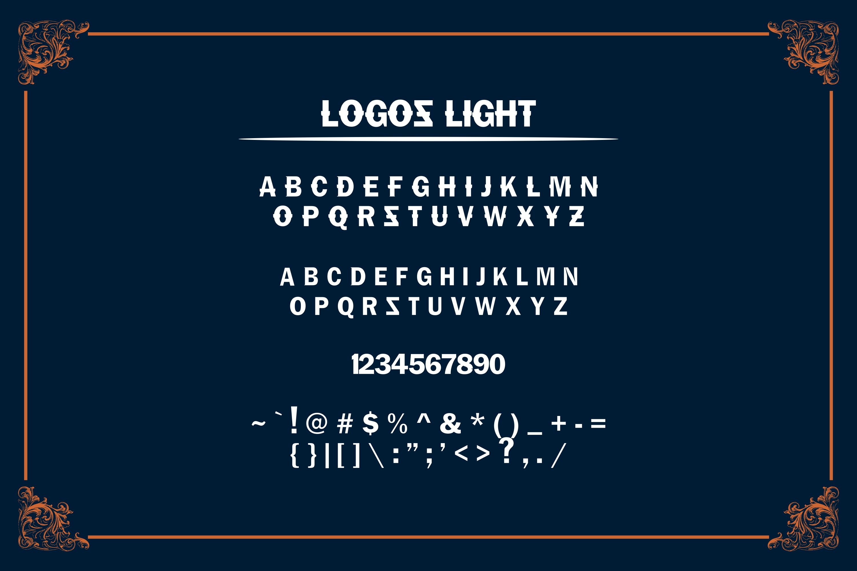 LOGOS | 5 Font Logo example image 7