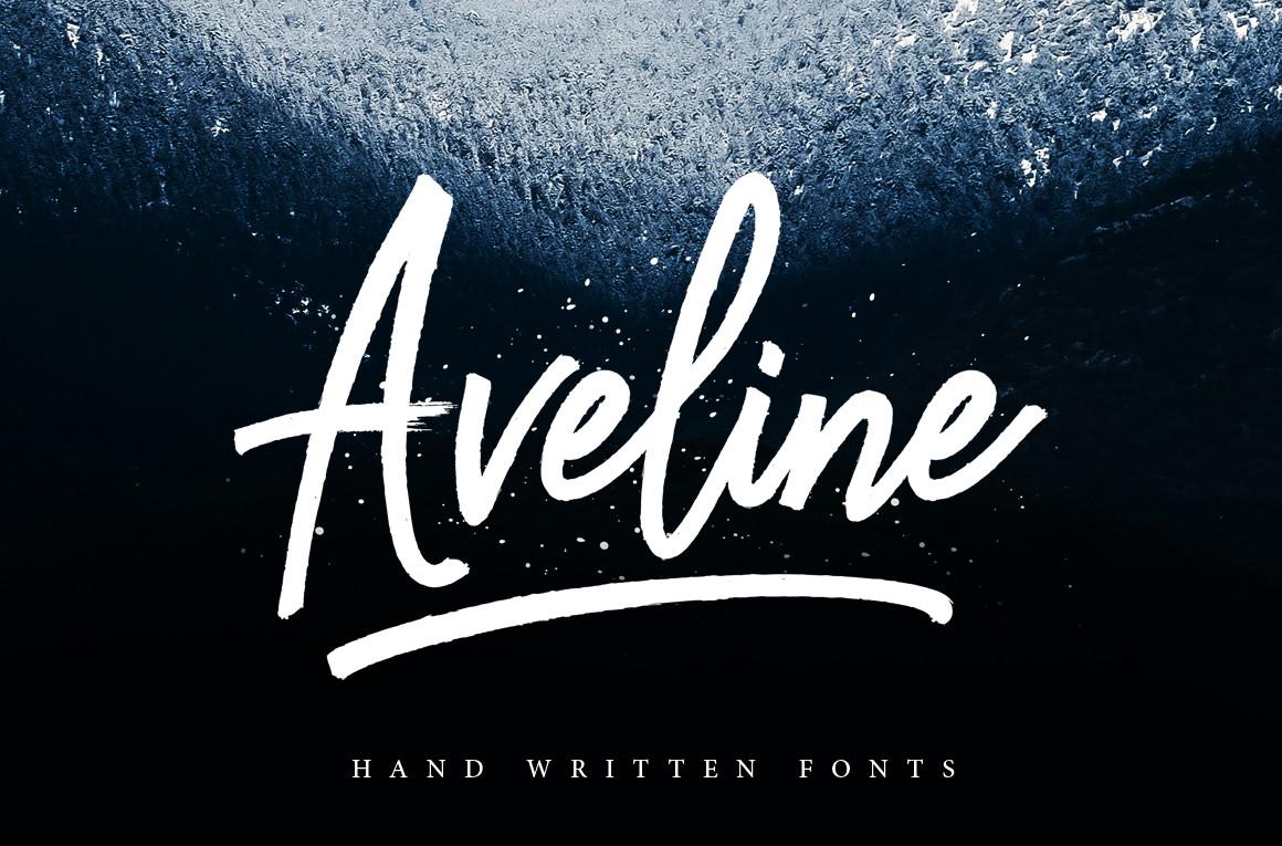 Aveline Script example image 1