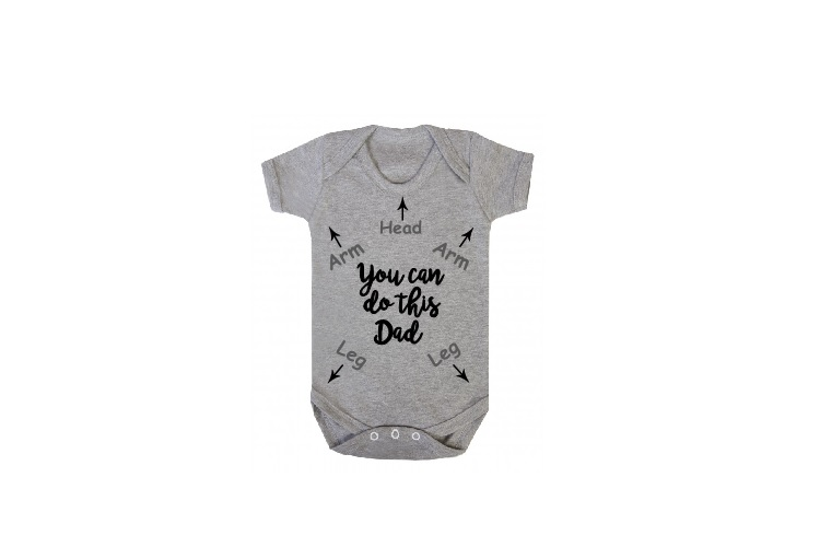 You Can Do This Dad Svg, Baby Svg, Newborn Svg, New Dad Svg example image 2
