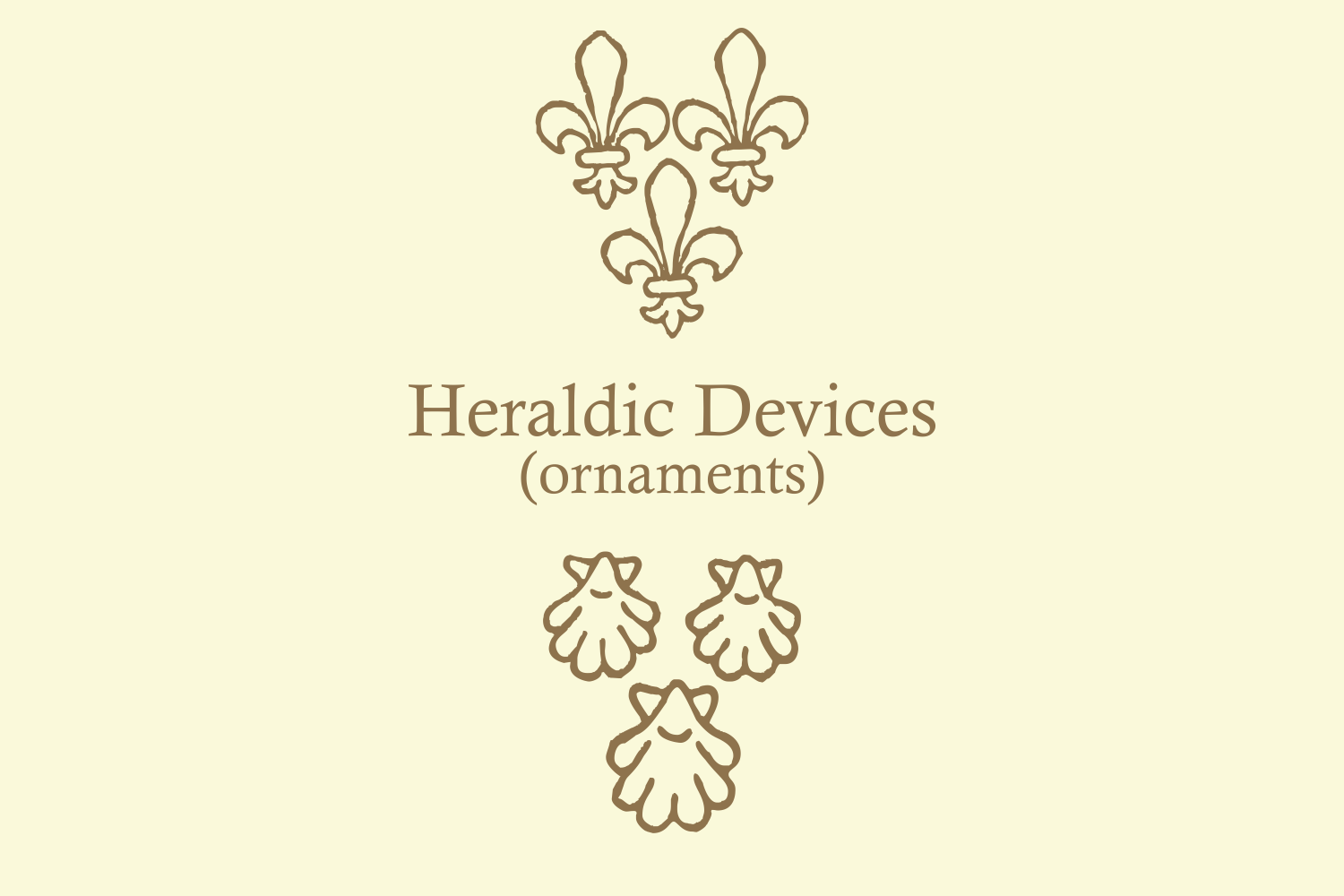 Heraldic Devices Premium (pack)  example image 7