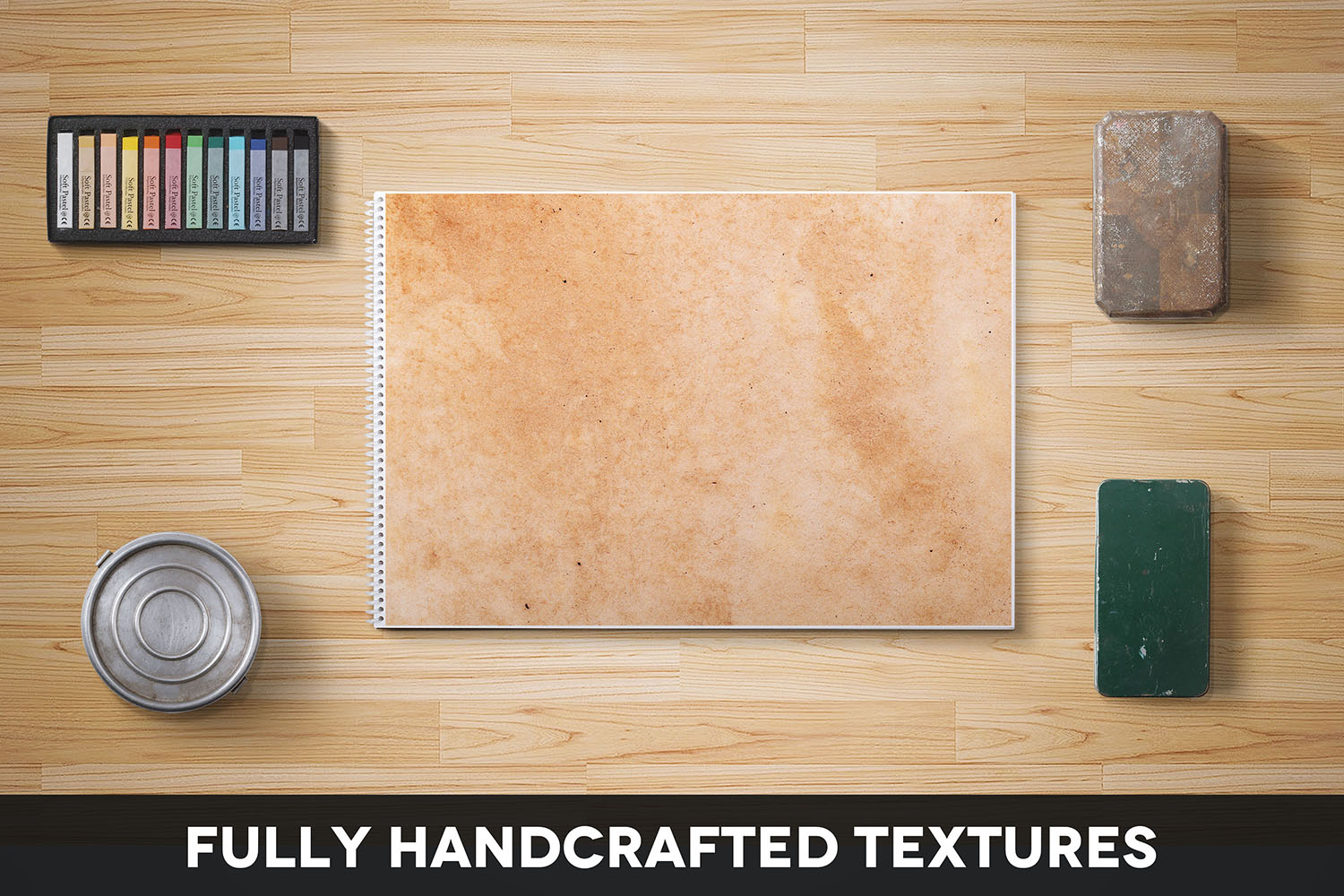 Handcrafted Vintage Paper Textures Vol. 06 example image 2