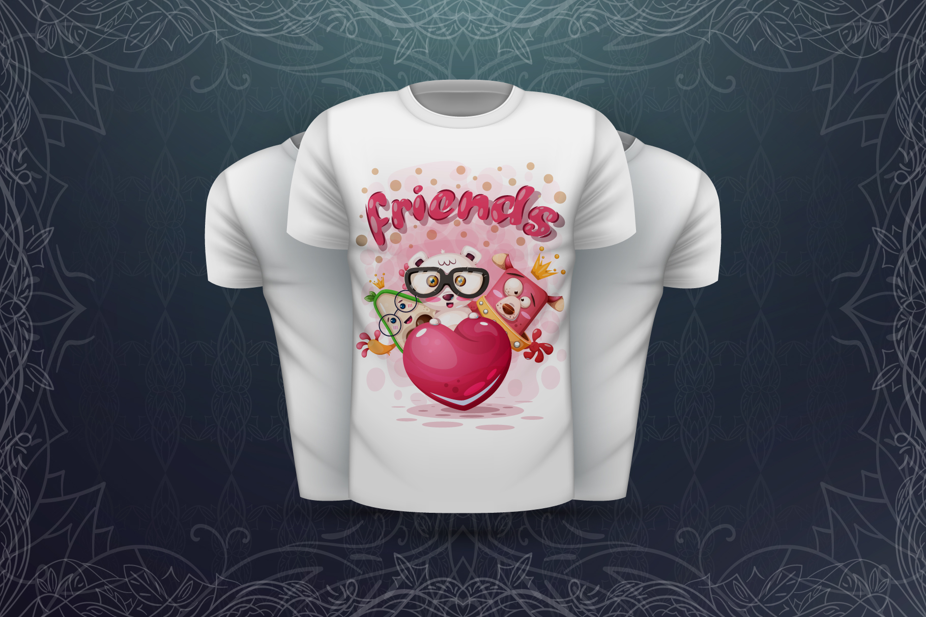 Sweet animals - for print t-shirt example image 4
